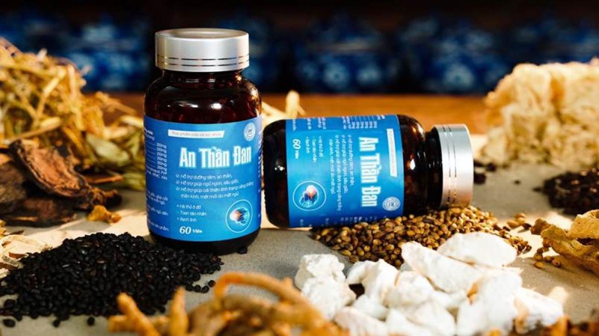 An thần đan được chiết xuất từ 16 thảo dược quý thiên nhiên, trồng trong vùng dược liệu sạch.