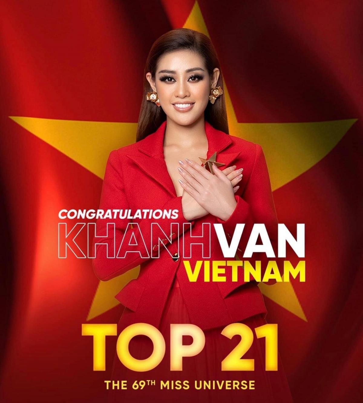 Dừng chân ở Top 21 nhưng Khánh Vân đã cố gắng hết mình trong suốt cuộc thi giữa 73 đối thủ xuất sắc năm nay./.
