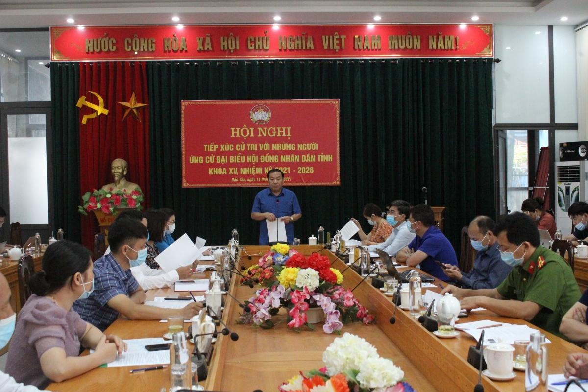 Ngành Y tế Sơn La đã lên phương án chi tiết phục vụ dịp bầu cử, từ hoạt động tiếp xúc cử tri vận động bầu cử, đến các tình huống tham gia bỏ phiếu trong ngày bầu cử 23/5/2021.