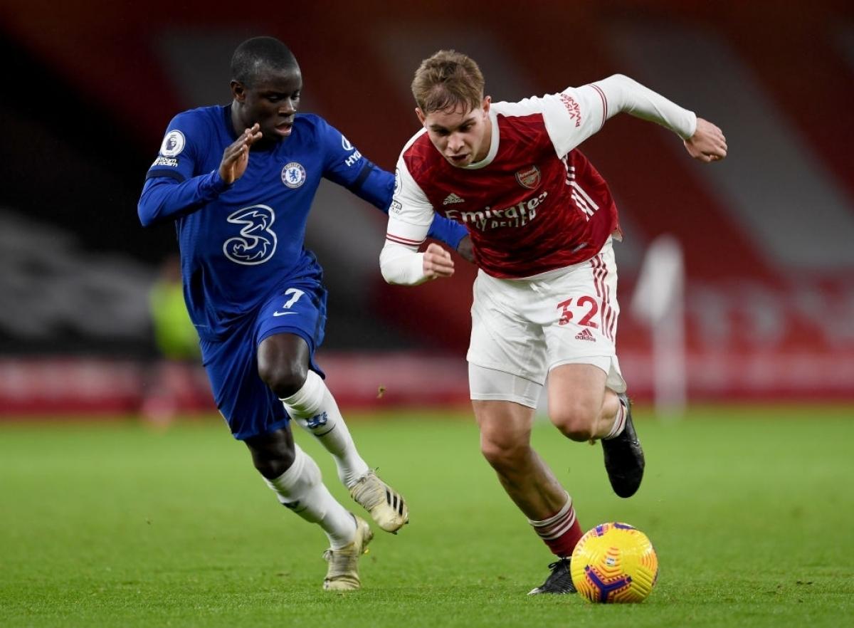 Chelsea đọ sức với Arsenal ở vòng 36 Ngoại hạng Anh (Ảnh: Getty).