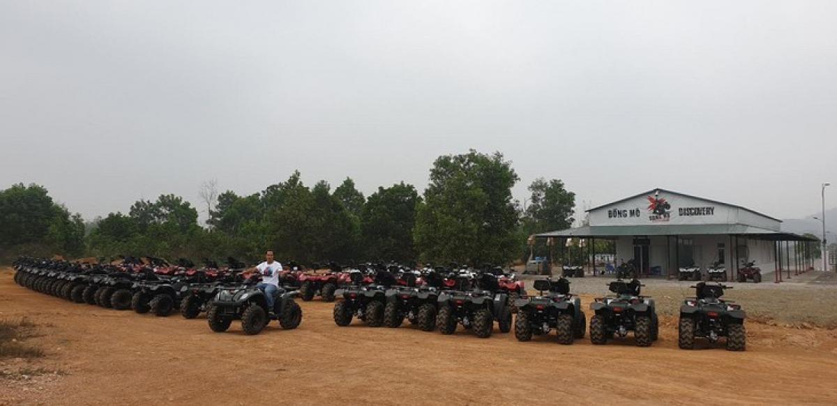 ATV fleet at Dong Mo Discovery