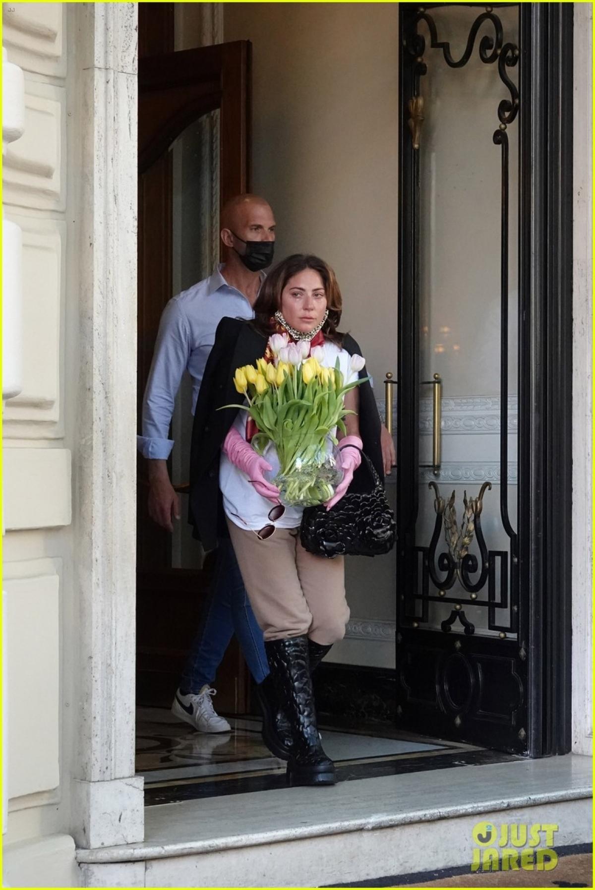 Lady Gaga hiện đang có cuộc sống hạnh phúc bênbạn trai Michael Polansky.