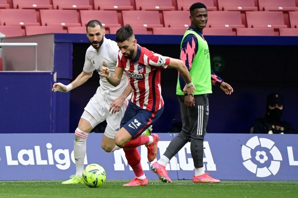 Atletico Madrid đang nắm lợi thế trong cuộc đua vô địch La Liga (Ảnh: Getty).