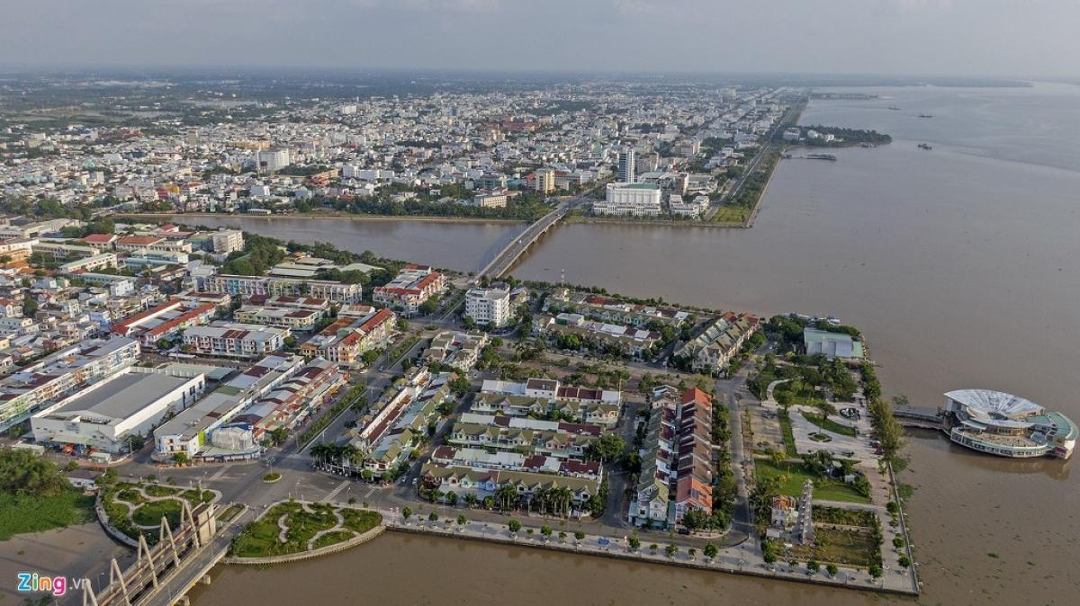 Dự án đô thị lấn biển Rạch Giá được Thủ tướng phê duyệt năm 1999, có tổng diện tích 420 ha (Ảnh minh họa: Zing News)
