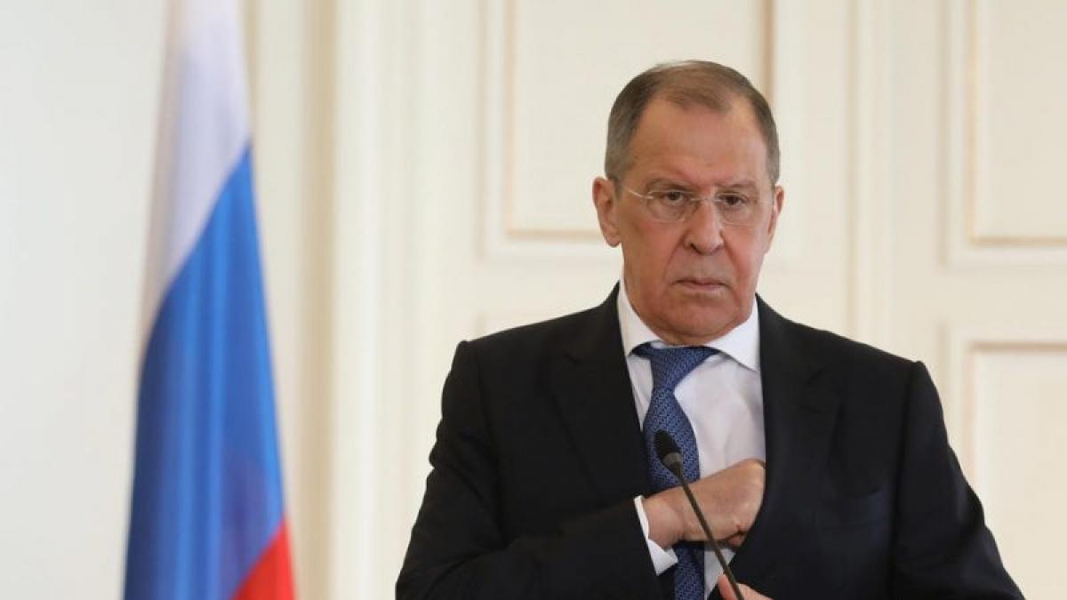 Ngoại trưởng Nga Lavrov. Ảnh: Eurativ.