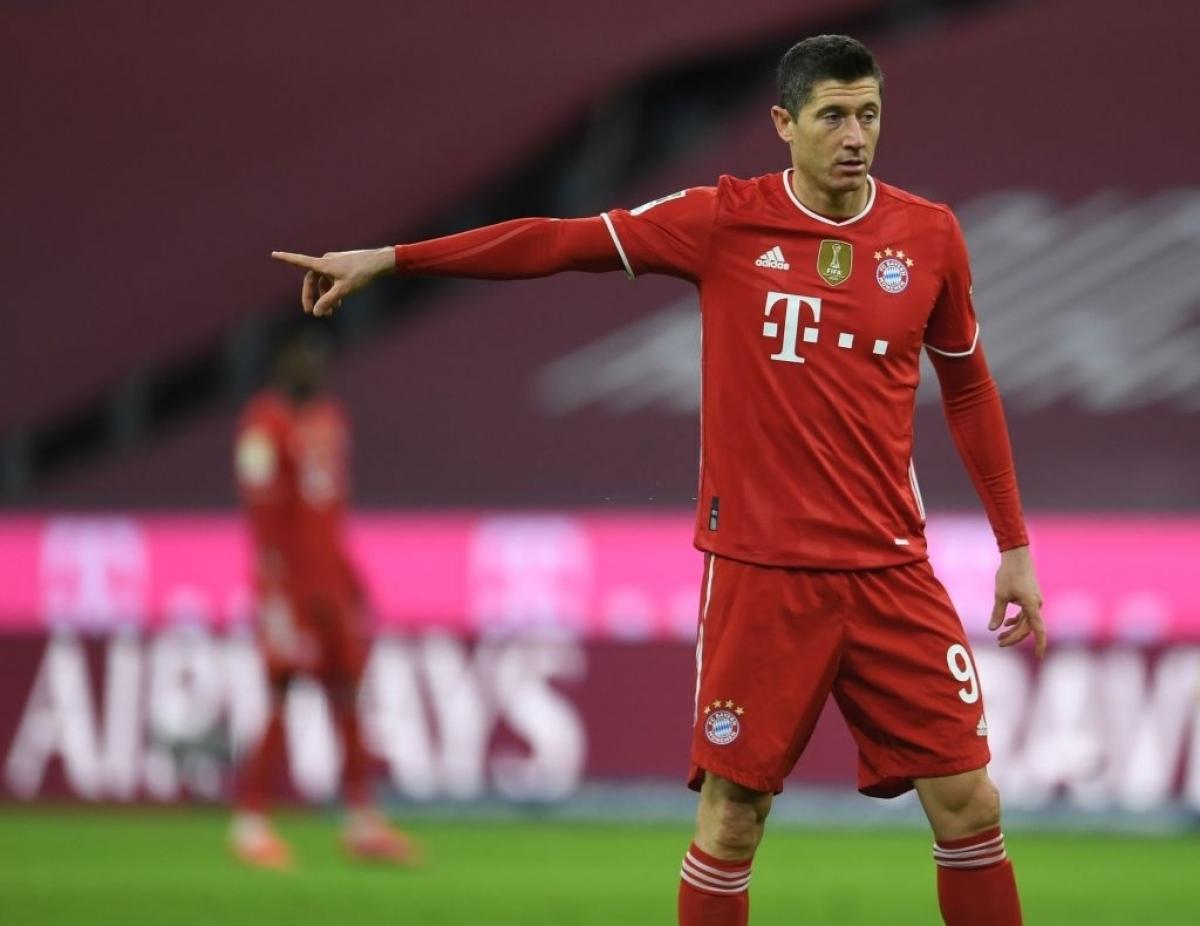 Bayern sẵn sàng bán Lewandowski với giá 52 triệu Bảng (Ảnh: Getty).