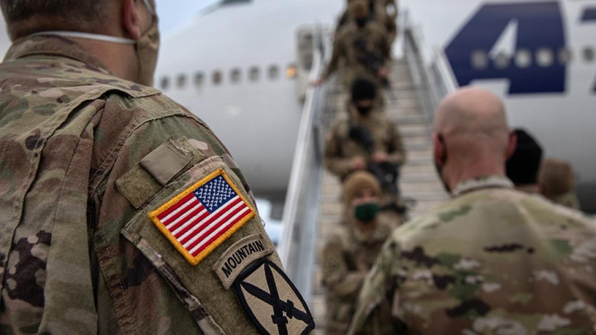Có những ý kiến trong Quốc hội Mỹ cho rằng rút quân khỏi Afghanistan là sai lầm. Ảnh: Getty.