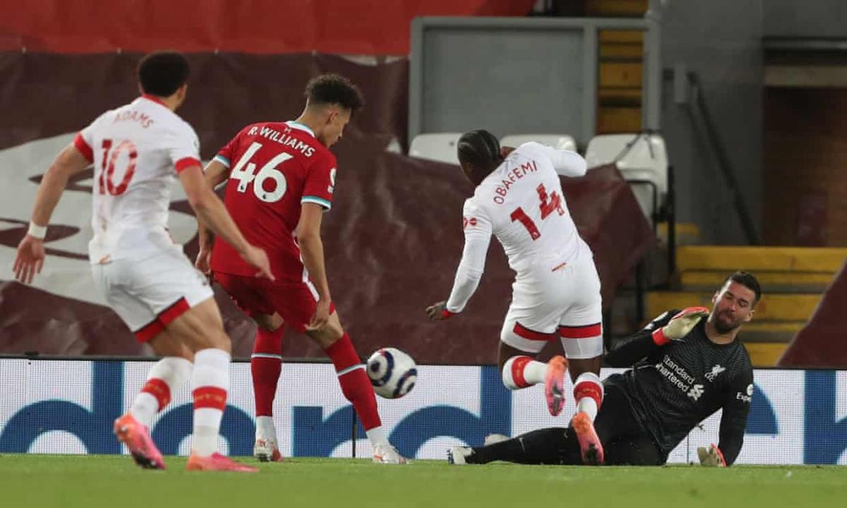Southampton khiến Liverpool không ít lần thót tim. (Ảnh: Getty)