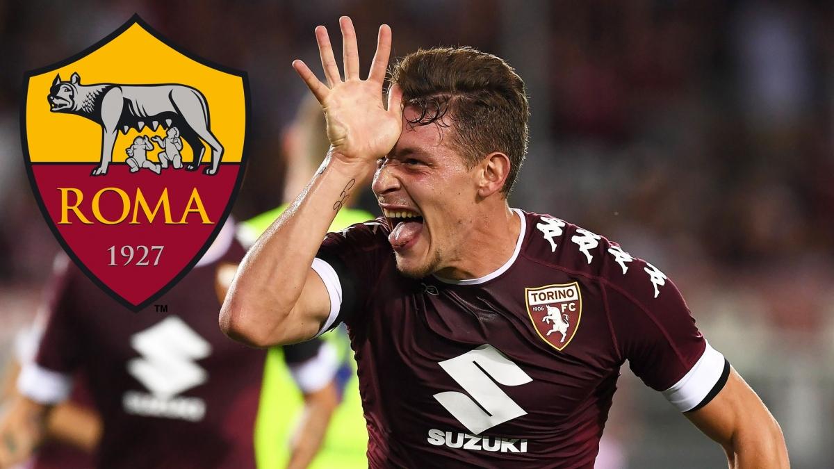 Andrea Belotti sẽ làtân binh đầu tiên của AS Roma dưới thời Jose Mourinho?