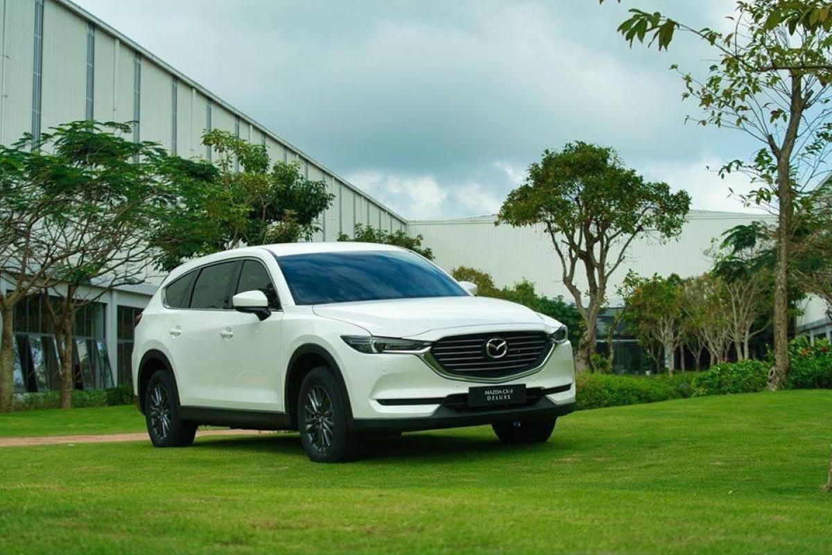 Mazda CX-8 nằm trong diện triệu hồi do lỗi bơm nhiên liệu.