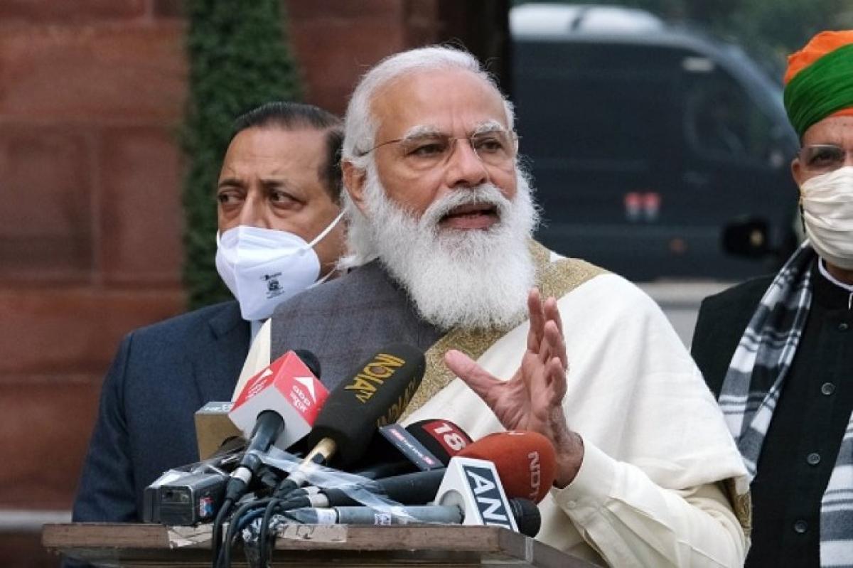 Thủ tướng Ấn Độ báo động dịch Covid-19 lan nhanh tại các vùng nông thôn. Ảnh: Bloomberg