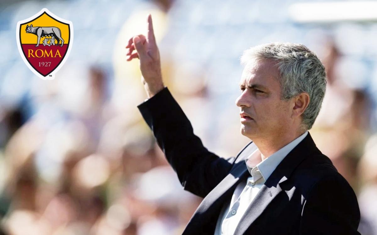 HLV Mourinho nhận lời dẫn dắt AS Roma (Ảnh: Getty).