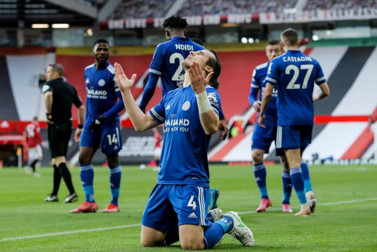 Leicester gia tăng khoảng cách với các đối thủ trong cuộc đua top 4. (Ảnh: Getty)