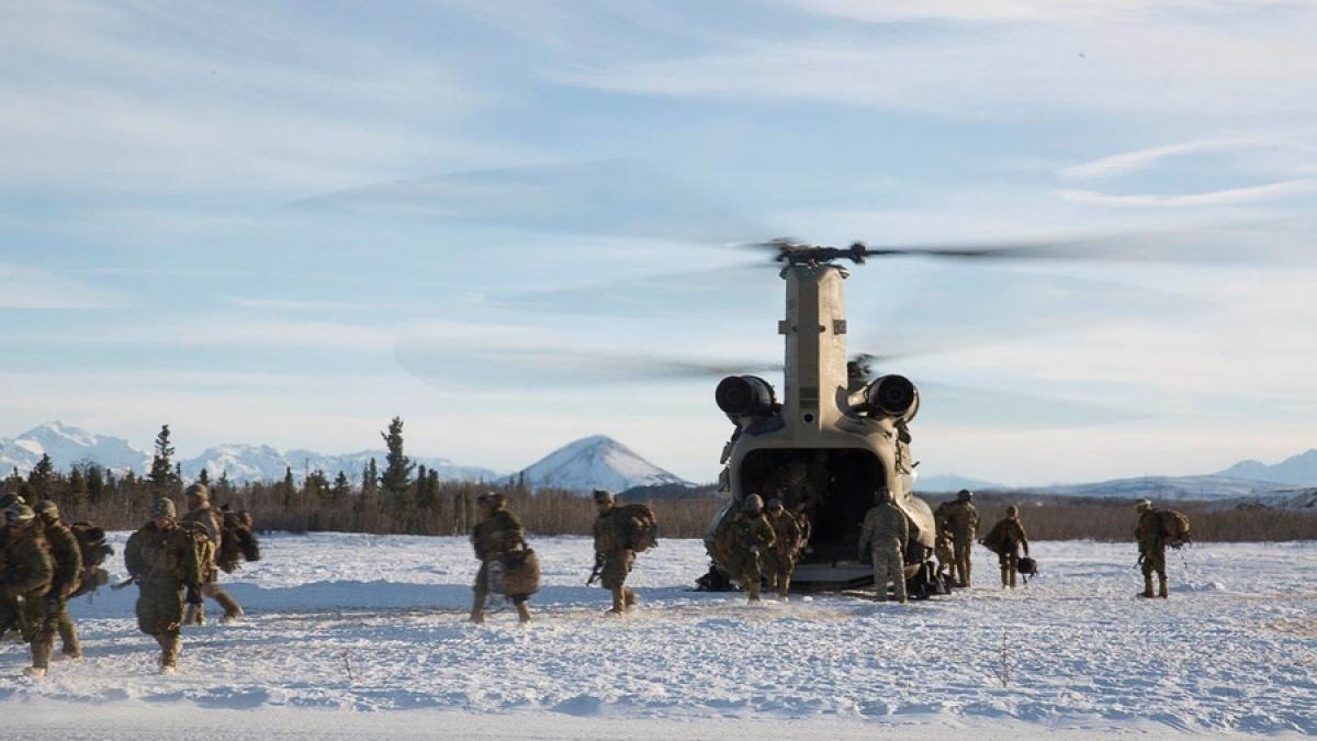 Lực lượng Mỹ tại Alaska. Ảnh: Không quân Mỹ