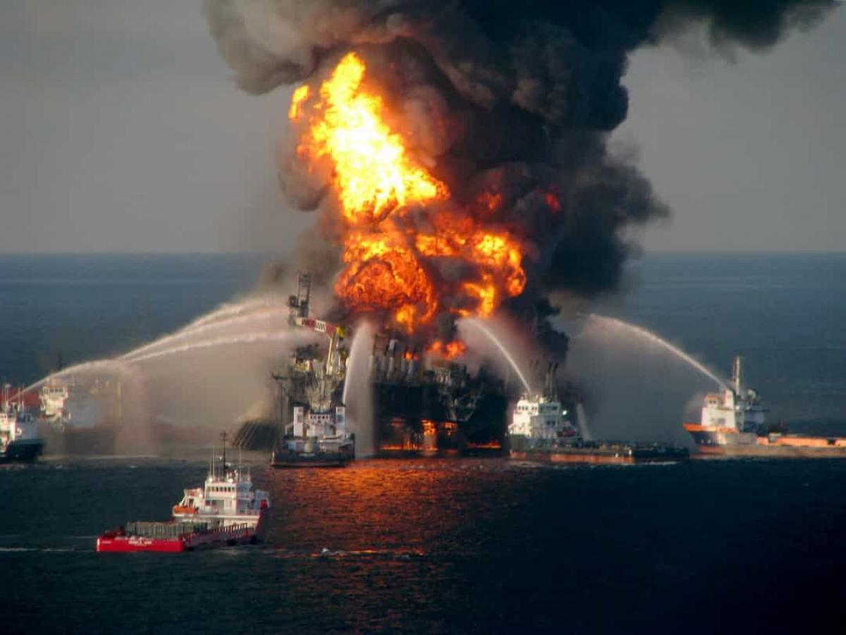 Sự cố tràn dầu Deepwater Horizon năm 2010. Vào ngày 20/4/2010 tại vịnh Mexico, giàn khoan nổi Deepwater Horizon đã phát nổ. Vào thời điểm đó, ước tính khoảng 1.000 thùng dầu bị rò rỉ mỗi ngày đã được đổ xuống vịnh.Theo Stars Insider, vụ tràn đã có tác động tàn khốc đối với sinh vật biển ở vùng vịnh Mexico.