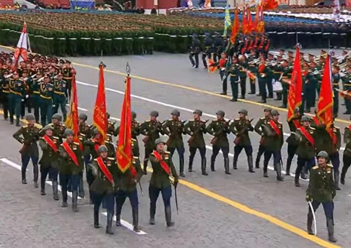 Các đơn vị thuộc lực lượng bộ binh. Ảnh: Sputnik.