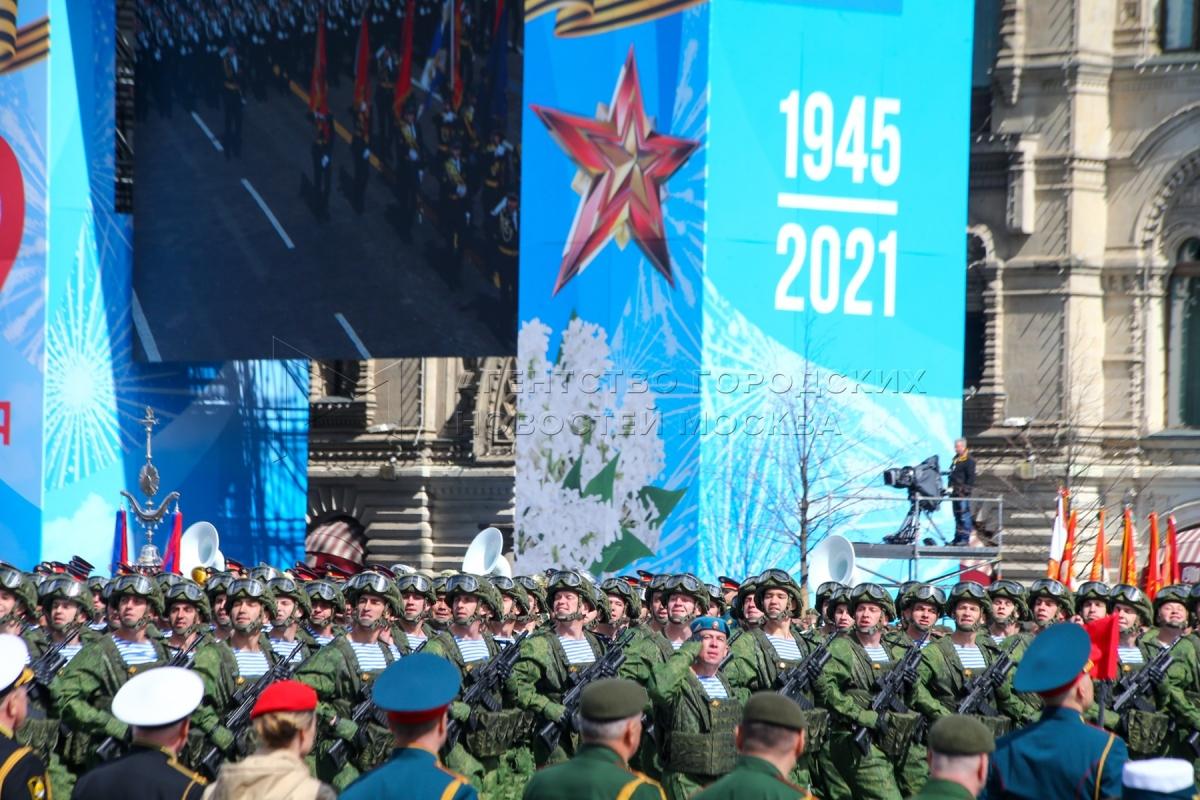 Tổng duyệt chuẩn bị cho lễ duyệt binh Chiến thắng. (Nguồn:mskagency.ru)