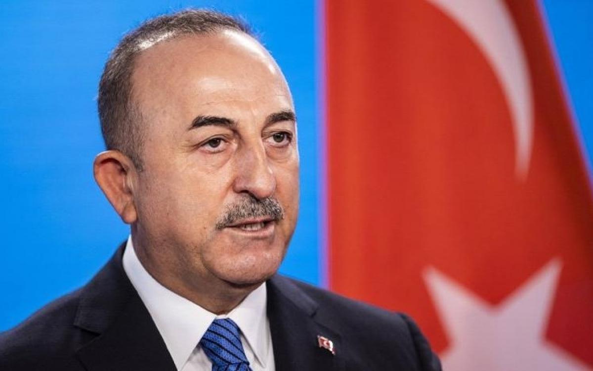 Ngoại trưởng Thổ Nhĩ Kỳ Mevlut Cavusoglu. Ảnh: Sozcu.