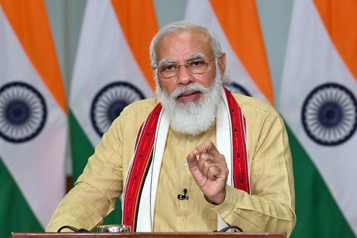Thủ tướng Ấn Độ Narendra Modi. (Ảnh: IndiaExpress)