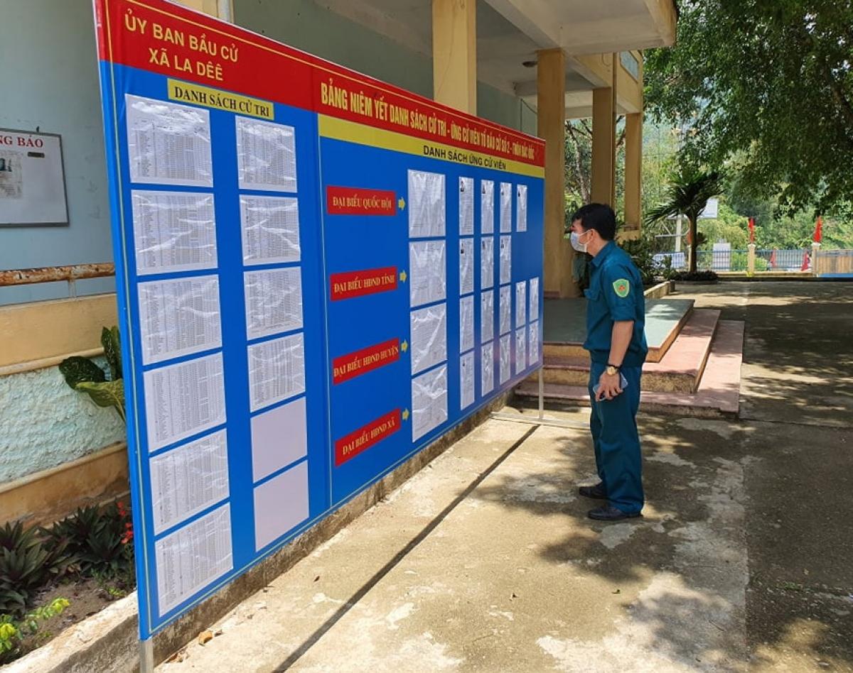 Các huyện miền núi Quảng Nam sẵn sàng cho ngày hội bầu cử