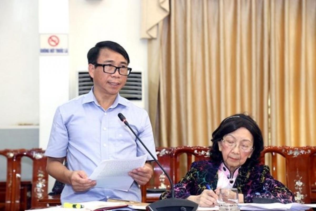 Ông Nguyễn Quang Minh -Trưởng Ban Dân chủ Pháp luật, Ủy ban Trung ương Mặt trận Tổ quốc Việt Nam.
