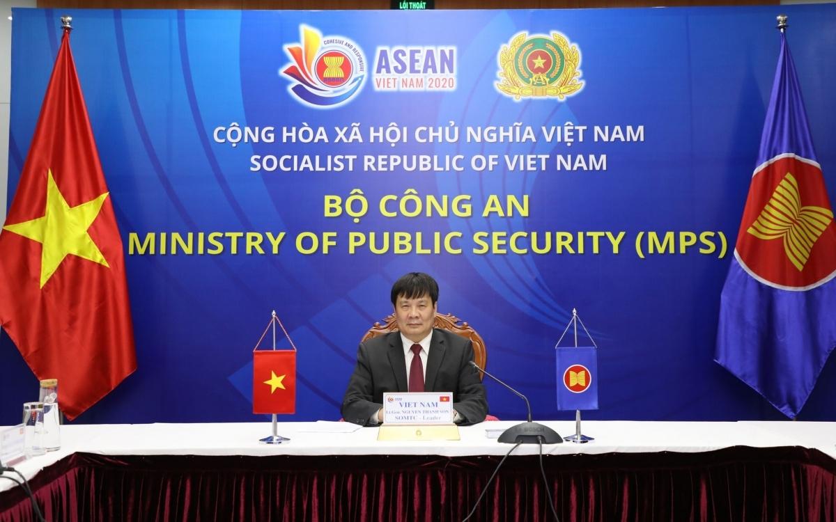 Trung tướng Nguyễn Thanh Sơn, Cục trưởng Cục Đối ngoại (Bộ Công An), Chánh Văn phòng Thường trực Ban Chỉ đạo về Nhân quyền Chính phủ.