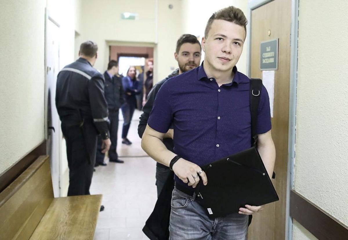 Roman Protasevich. Ảnh: Reuters