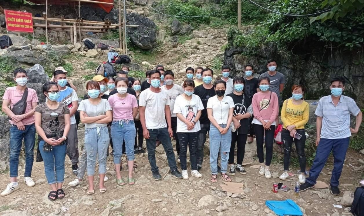 29 công dân nhập cảnh trái phép từ Trung Quốc qua khu vực mốc mốc 783.