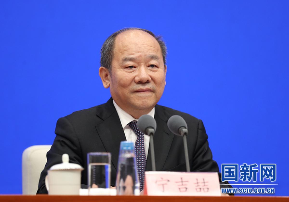 Ông Ninh Cát Triết, Cục trưởng Cục Thống kê Quốc gia Trung Quốc. Ảnh: SCI