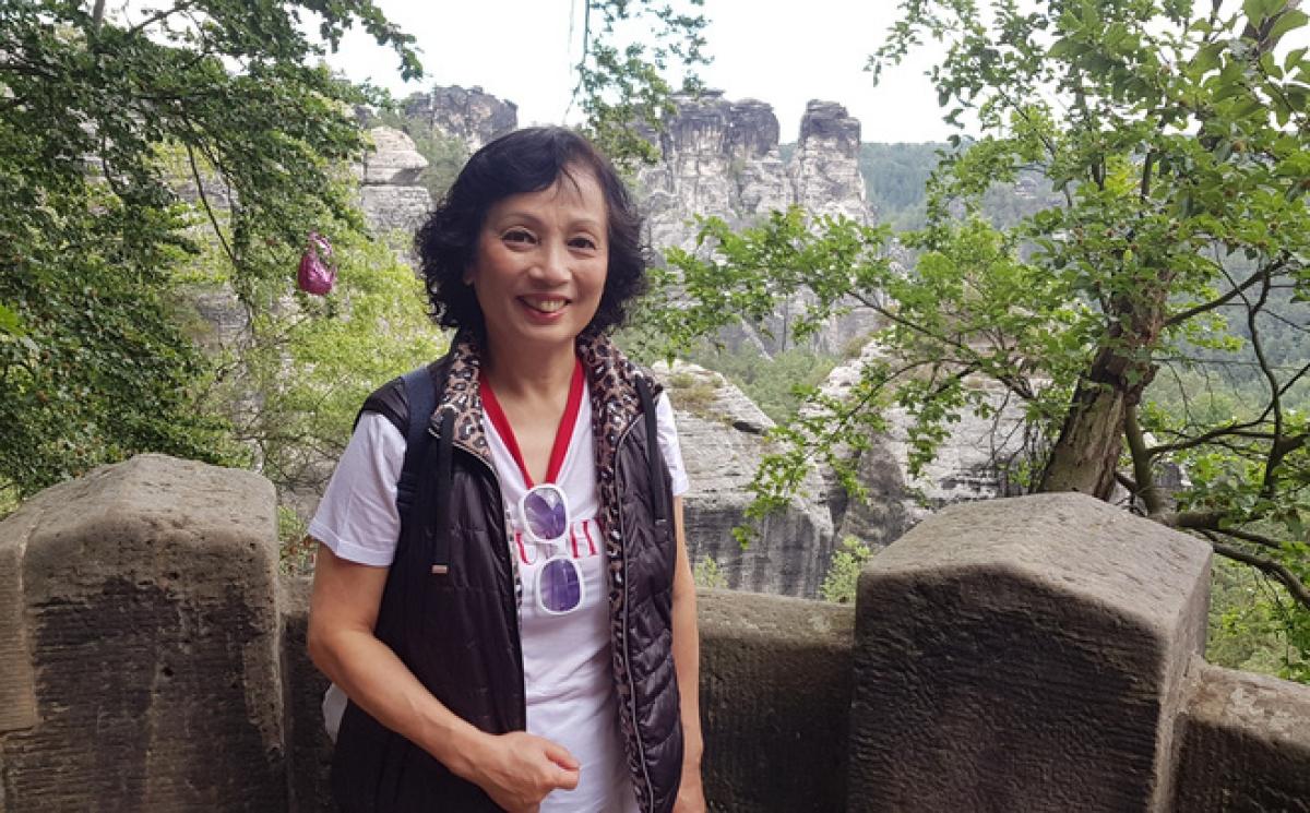Là người mắc Covid-19 do nhiễm biến thể Anh, chị Trần Phương Hoa (nghệ sĩ, giảng viên âm nhạc tại Berlin - CHLB Đức) đã vượt qua đầy nghị lực.