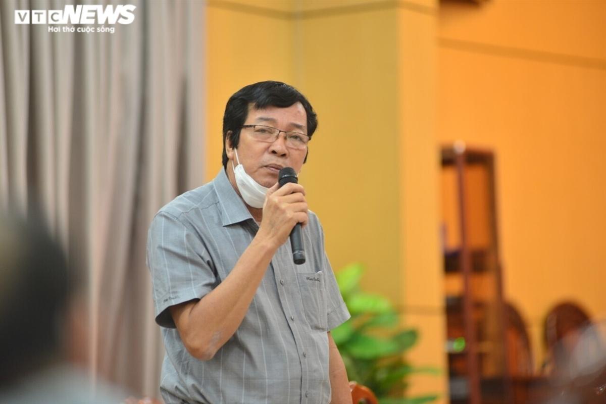 Ông Đoàn Dụng, một trong số 4 lãnh đạo Sở ở Quảng Ngãi nghỉ công tác chờ đủ tuổi sẽ nghỉ hưu.