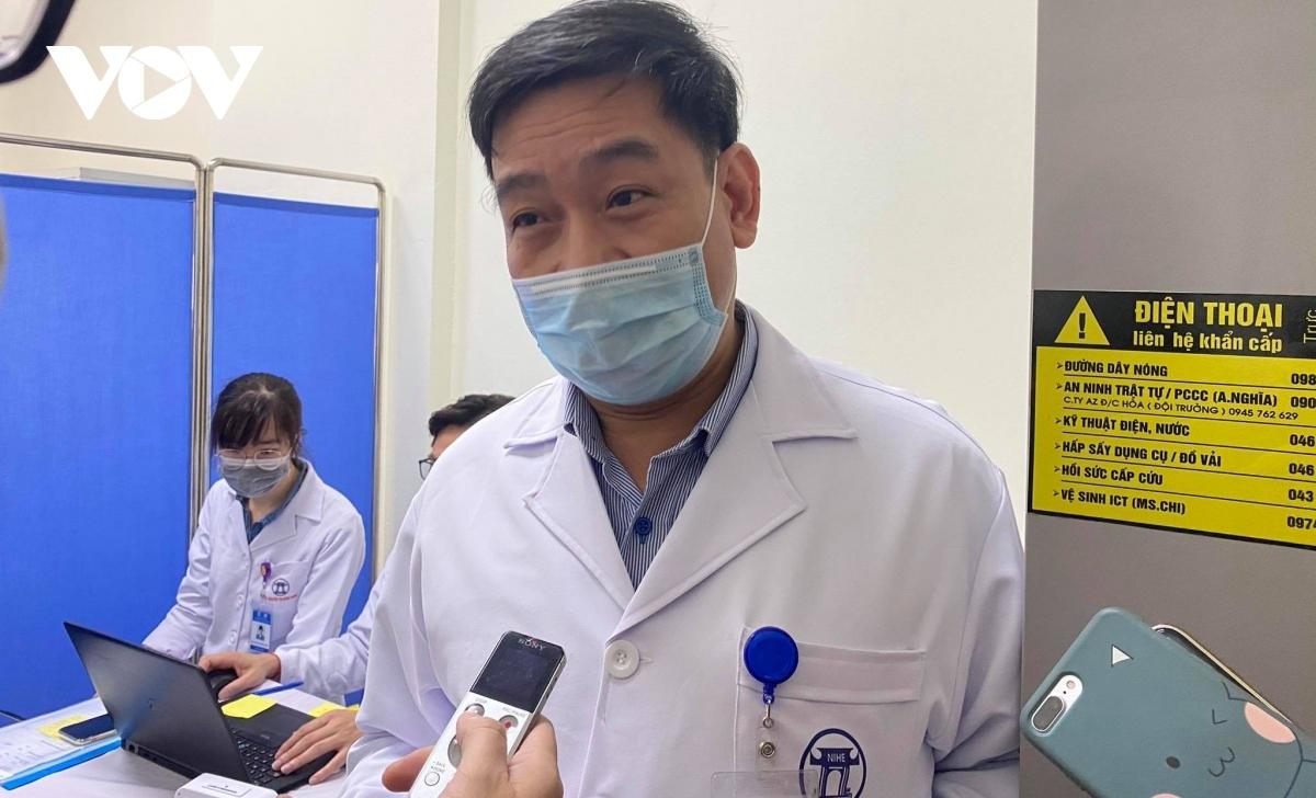 PGS.TS Vũ Đình Thiểm, Giám đốc Trung tâm Thử nghiệm lâm sàng, Viện Vệ sinh Dịch tễ Trung ương.
