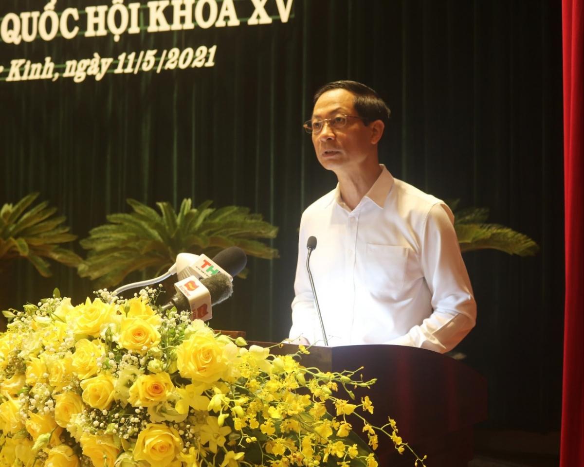 Ông Đỗ Mạnh Hiến, Phó Bí thư thường trực Thành ủy Hải Phòng tập trung vào những vấn đề còn tồn tại ở các địa phương và trên địa bàn Hải Phòng để kiến nghị Quốc hội xem xét giải quyết, nếu được lựa chọn là người đại diện dân cử.