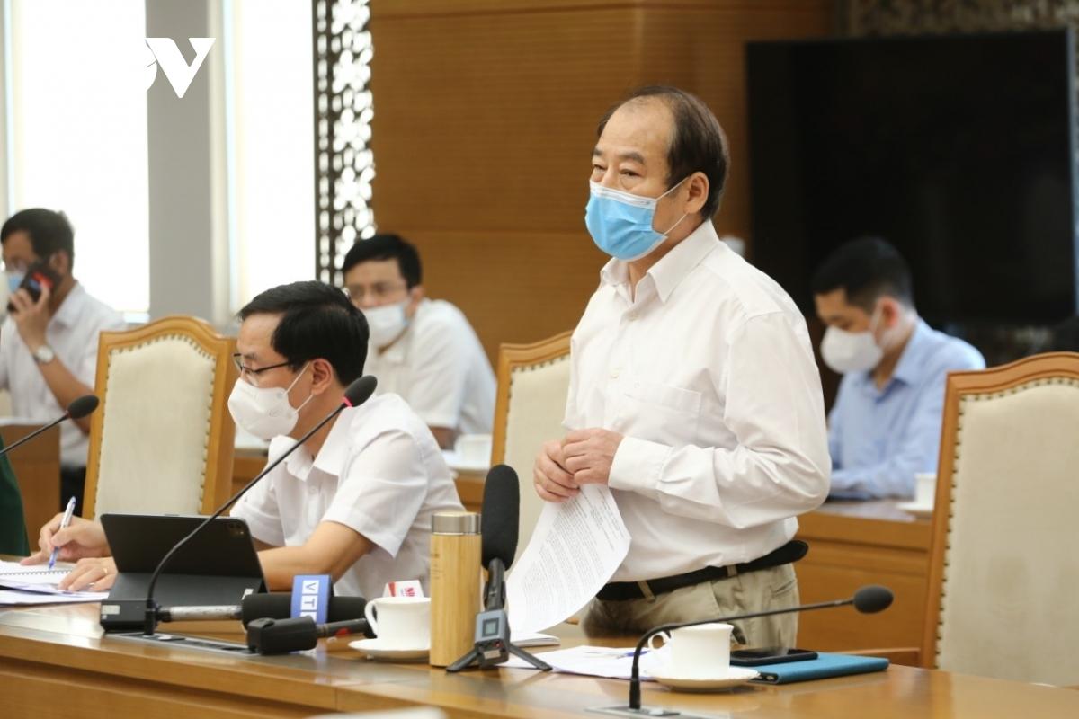 PGS.TS Trần Đắc Phu, nguyên Cục trưởng Cục Y tế Dự phòng (Bộ Y tế), cố vấn Trung tâm Đáp ứng khẩn cấp sự kiện y tế công cộng Việt Nam