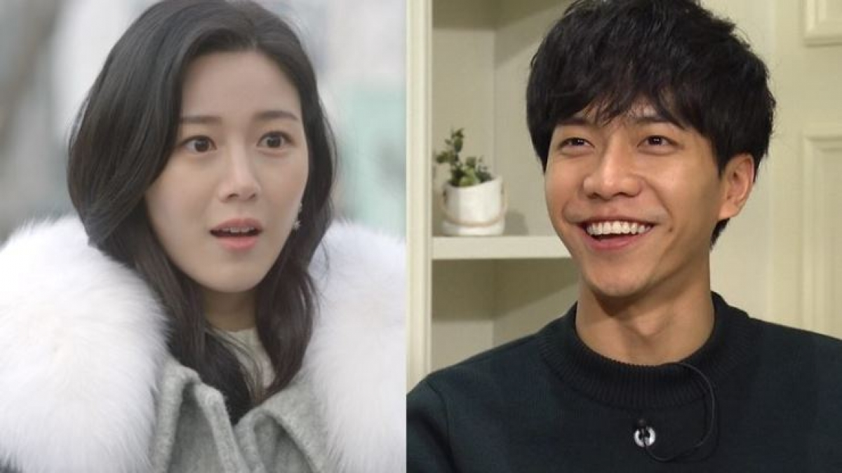 Lee Da-in (trái) và Lee Seung-gi (phải). Nguồn: KBS