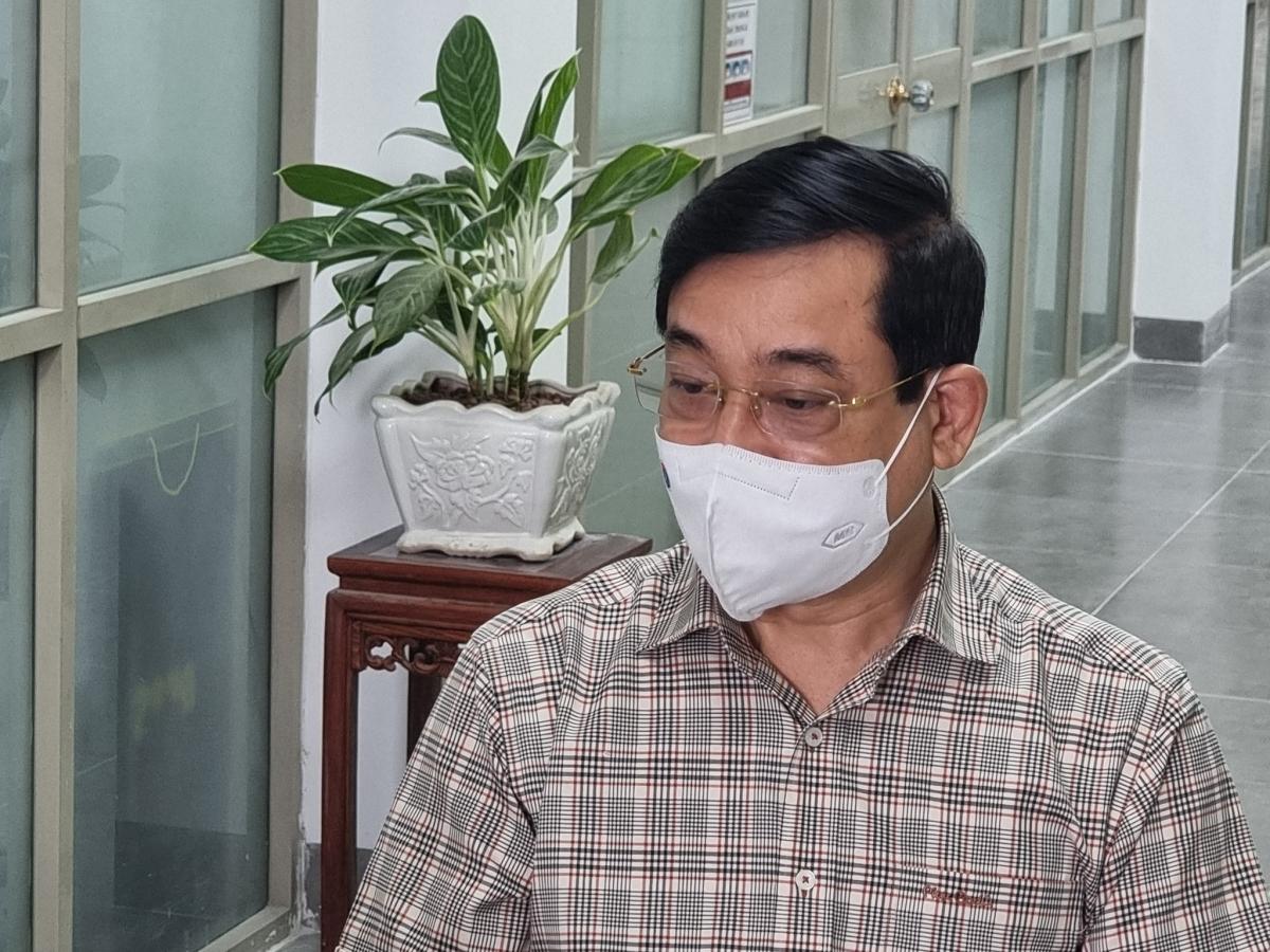 PGS.TS Lương Ngọc Khuê, Phó Chủ tịch Hội đồng Y khoa Quốc gia, Cục trưởng Cục Quản lý Khám chữa bệnh, Bộ Y tế. Ảnh: Sức khỏe Đời sống.