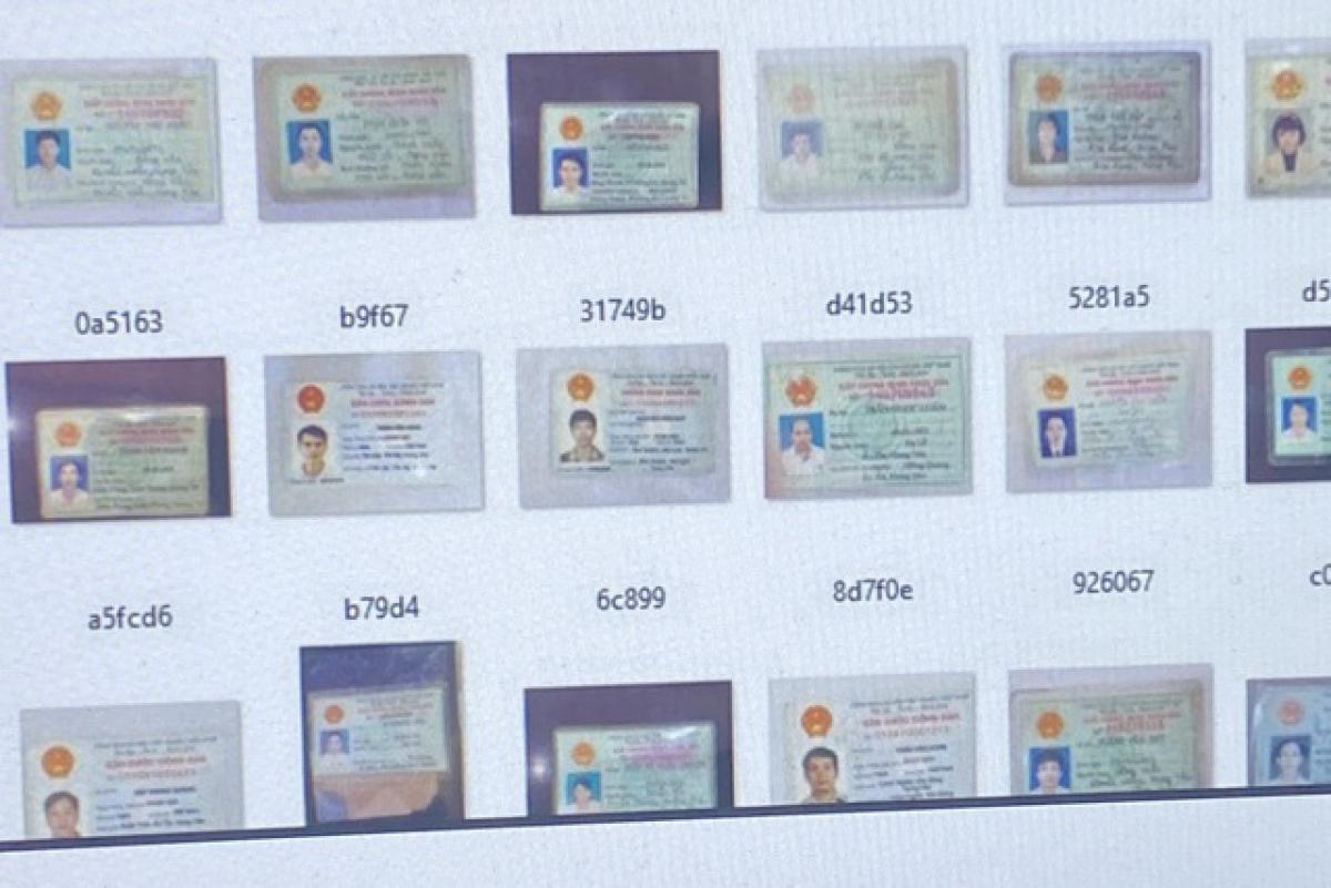 Hàng nghìn chứng minh thư của người Việt Nam bị rao bán trên diễn đàn hacker quốc tế