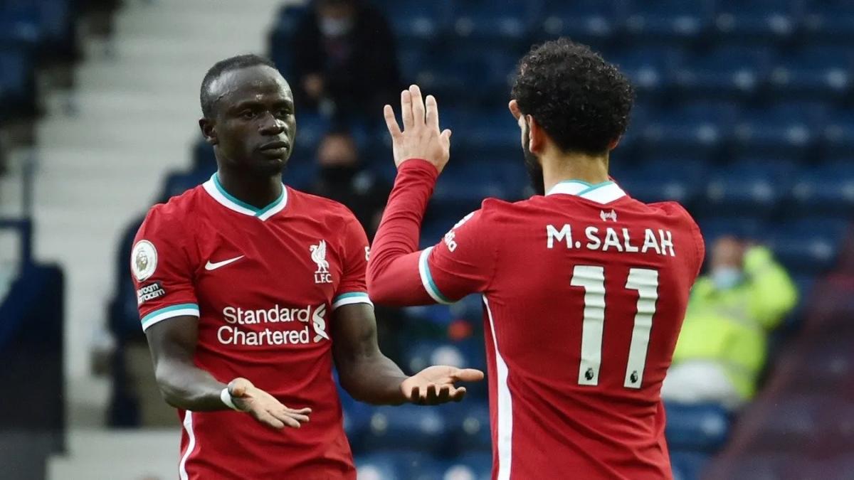 Salah ghi bàn gỡ hòa kịp thời cho Liverpool. (Ảnh: Premier League).