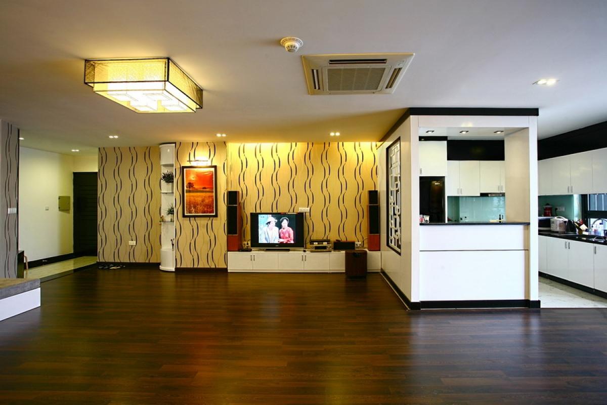 Hai cách cơ bản phối màu sàn với đồ nội thất, đó là tương đồng và tương phản.