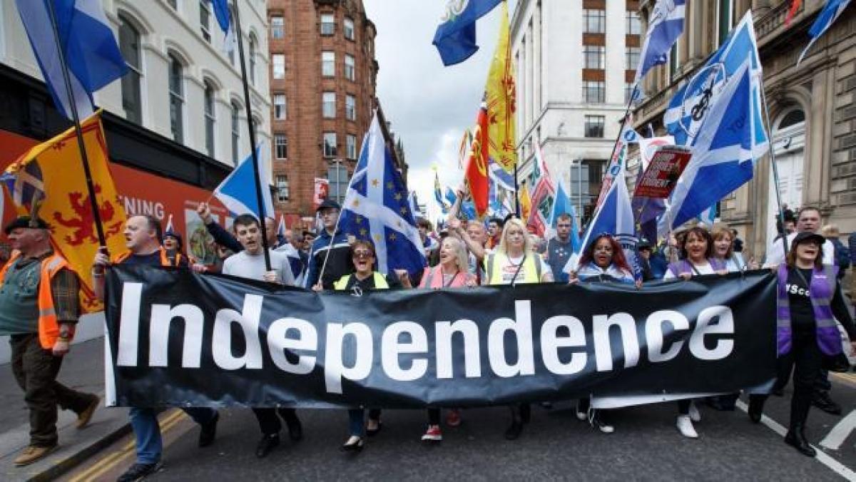 Chiến thắng của Đảng Quốc gia Scotland có khả năng tạo tiền đề cho một cuộc trưng cầu dân ý về độc lập của vùng đất này. Ảnh: Scotland Herald