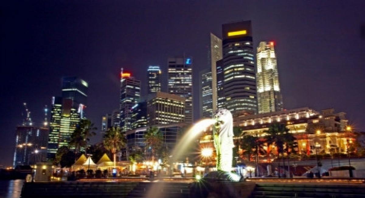 Một góc đảo quốc Sư tử Singapore. (Ảnh: Getty Image)