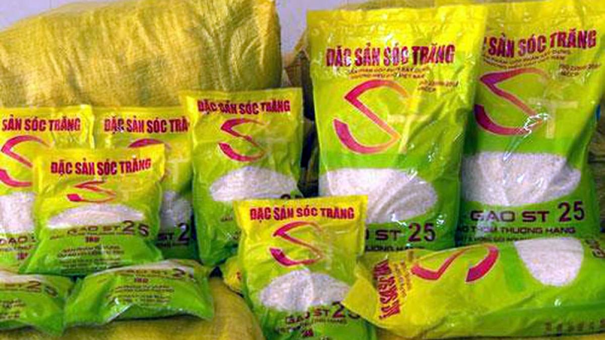 """Gạo ST25 của Việt Nam được vinh danh là """"Gạo ngon nhất thế giới"""" đã định vị được vị thế của mình trên trường quốc tế. Ảnh minh họa: KT"""
