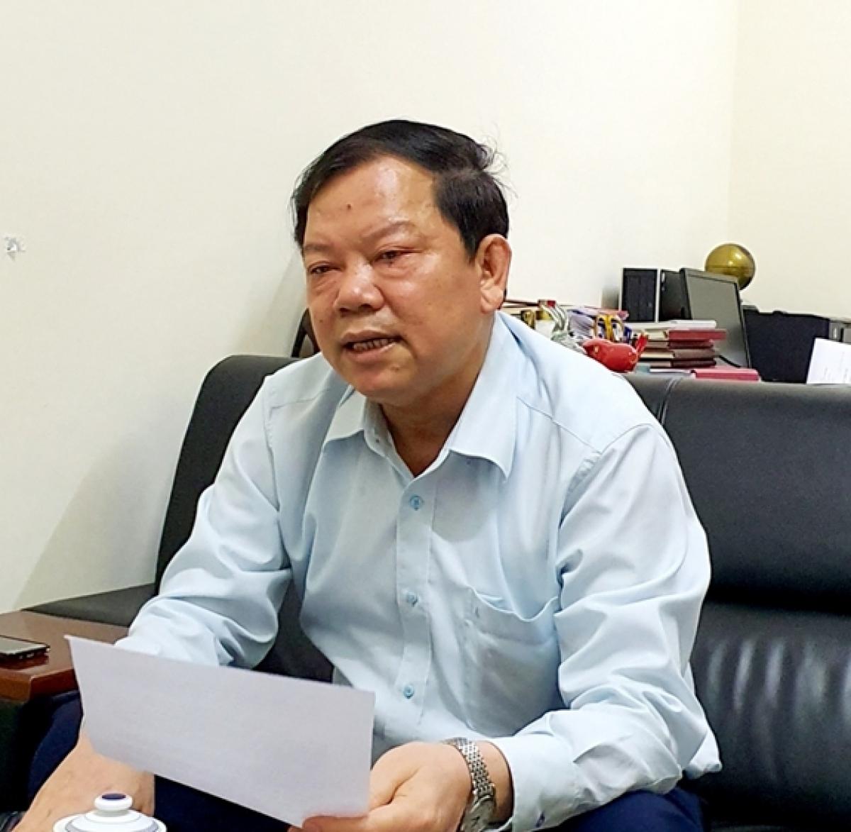 PGS, TS Trần Minh Trưởng.