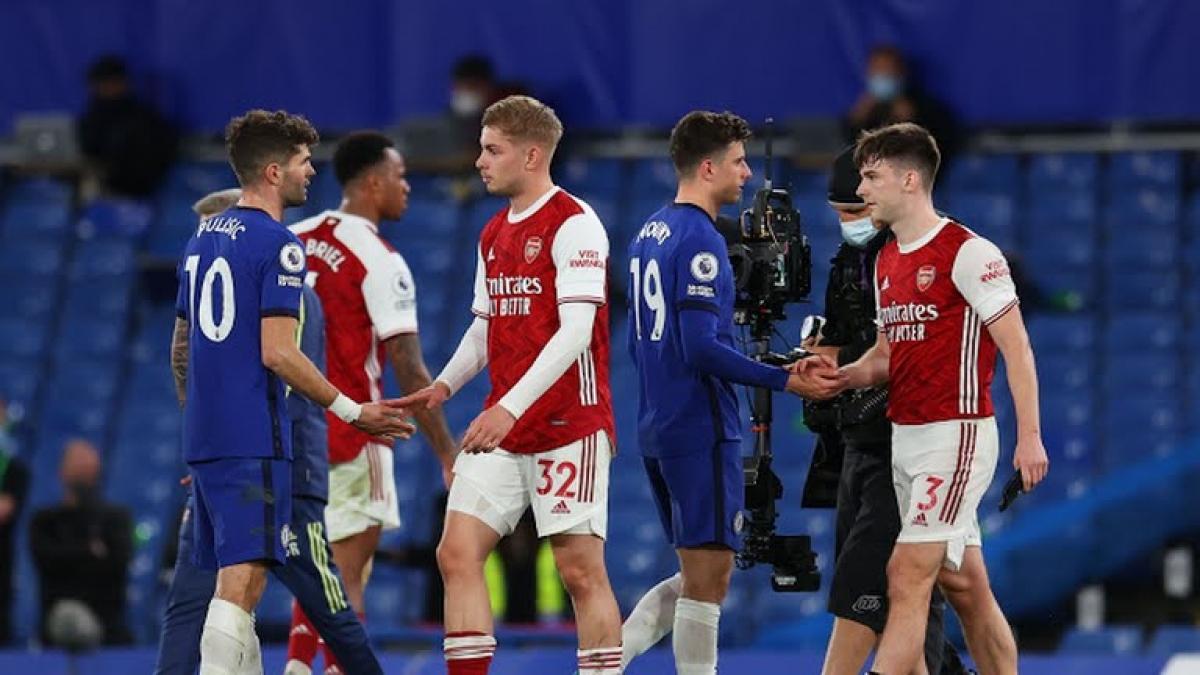 Chelsea thất bại trước Arsenal trên sân nhà (Ảnh: Reuters).