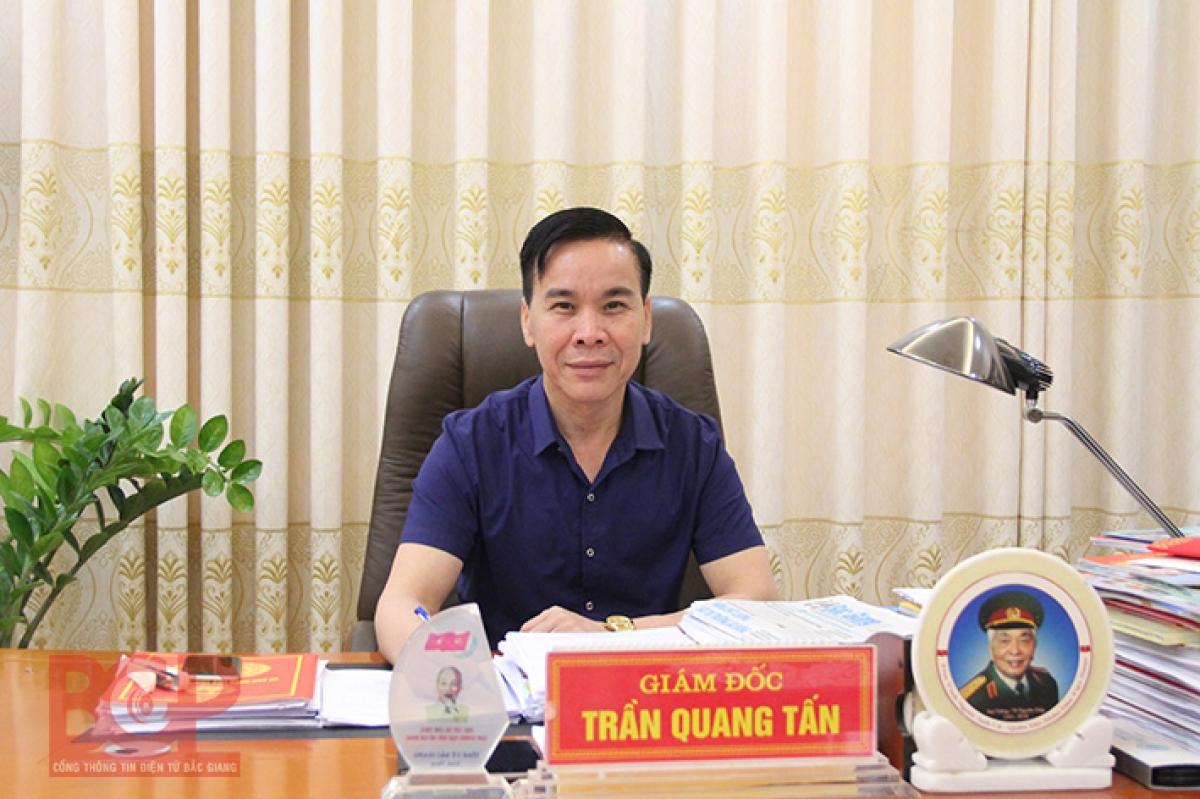 ông Trần Quang Tấn, Giám đốc Sở Công thương Bắc Giang