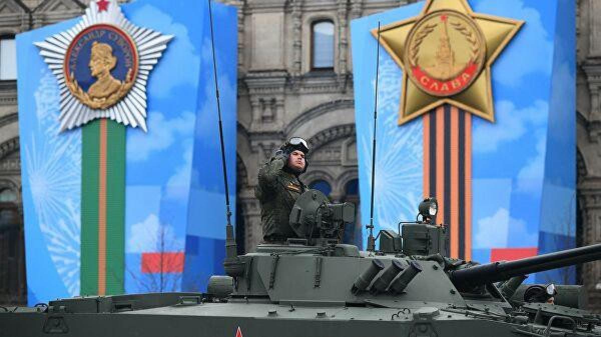 Tăng T-14 Armata.Ảnh:RIA Novosti