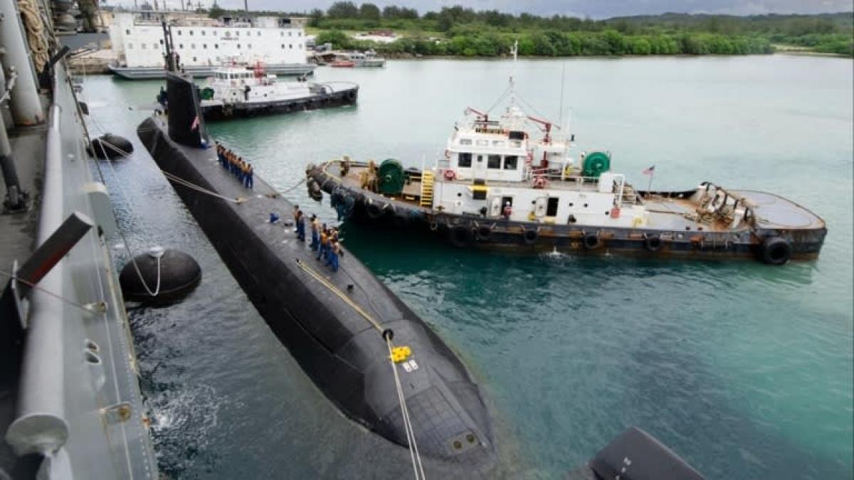 Tàu ngầm JS Soryu của Nhật Bản. Ảnh: U.S. Navy