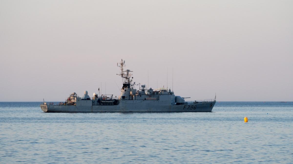Tàu tuần tra Commandant Birot của Hải quân Pháp. Ảnh: KT