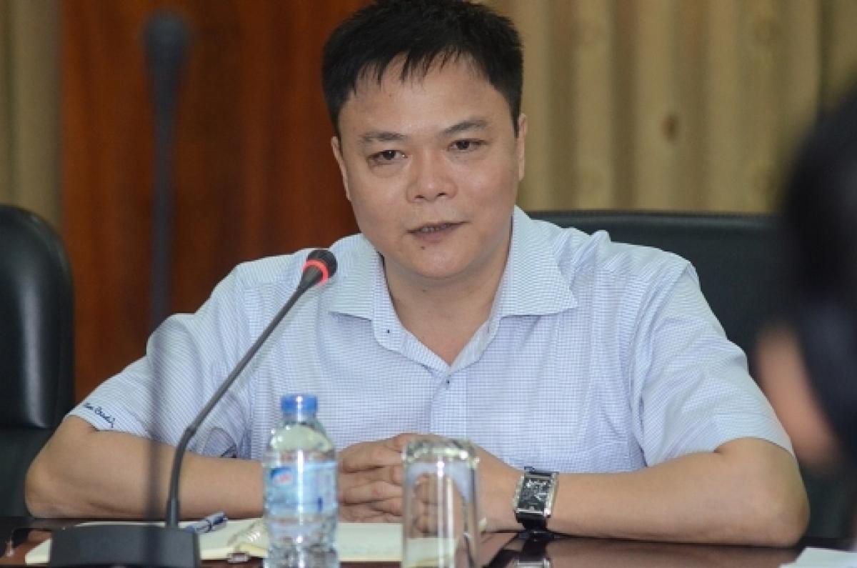 PGS.TS Nguyễn Phong Điền, Phó Hiệu trưởng ĐH Bách khoa Hà Nội. (Ảnh: KT)