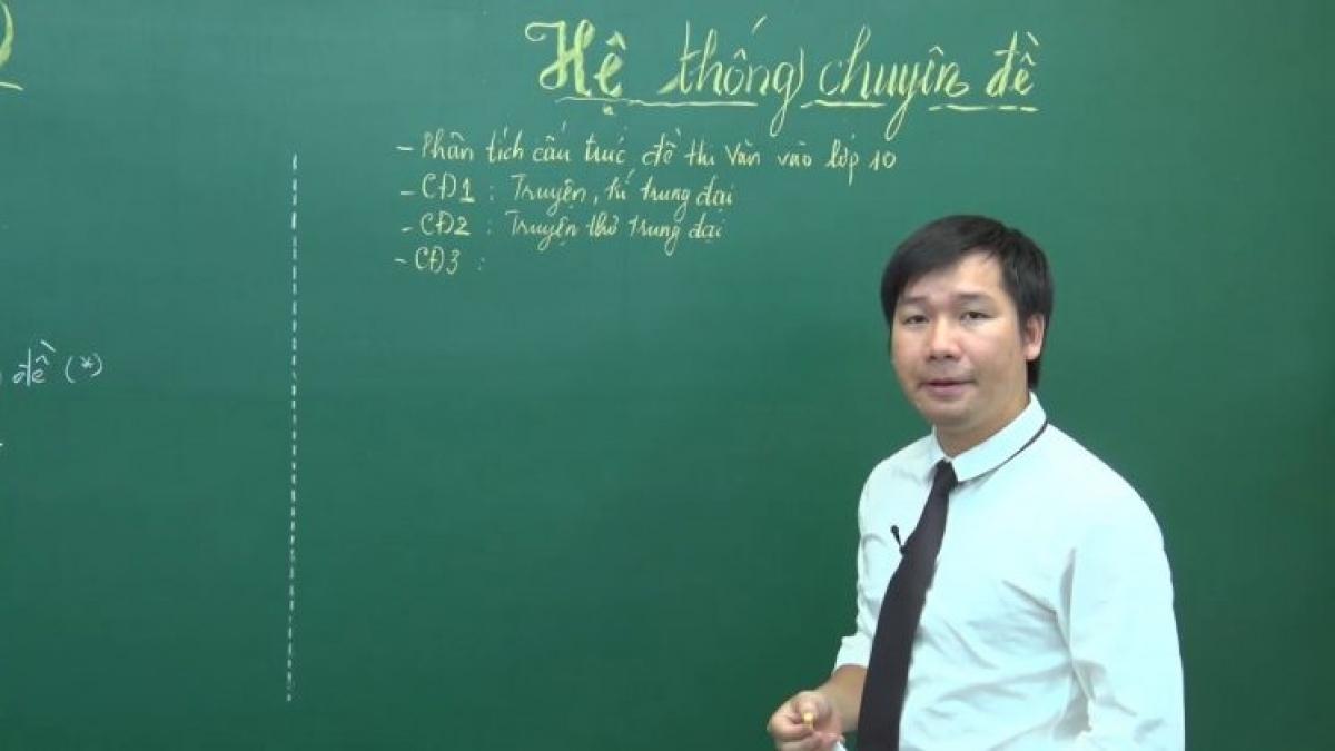 Thầy Nguyễn Phi Hùng đưa ra một số nội dung thí sinh thường gặp vướng mắc khi ôn tập phần thơ hiện đại.